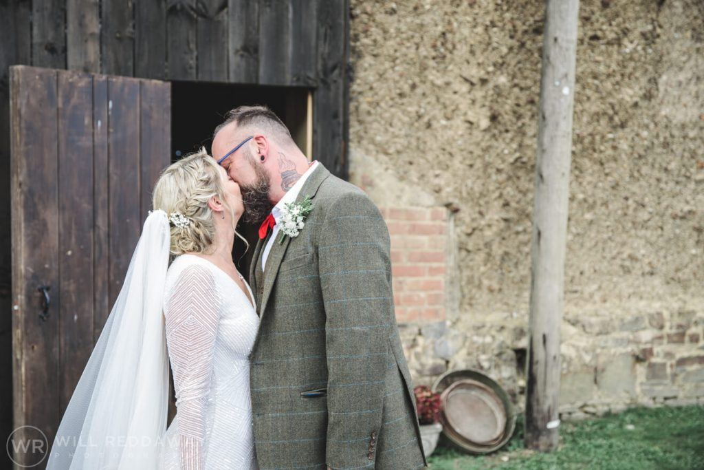 Higher Eggbeer Farm Wedding | Devon Wedding Photography | Bride & Groom