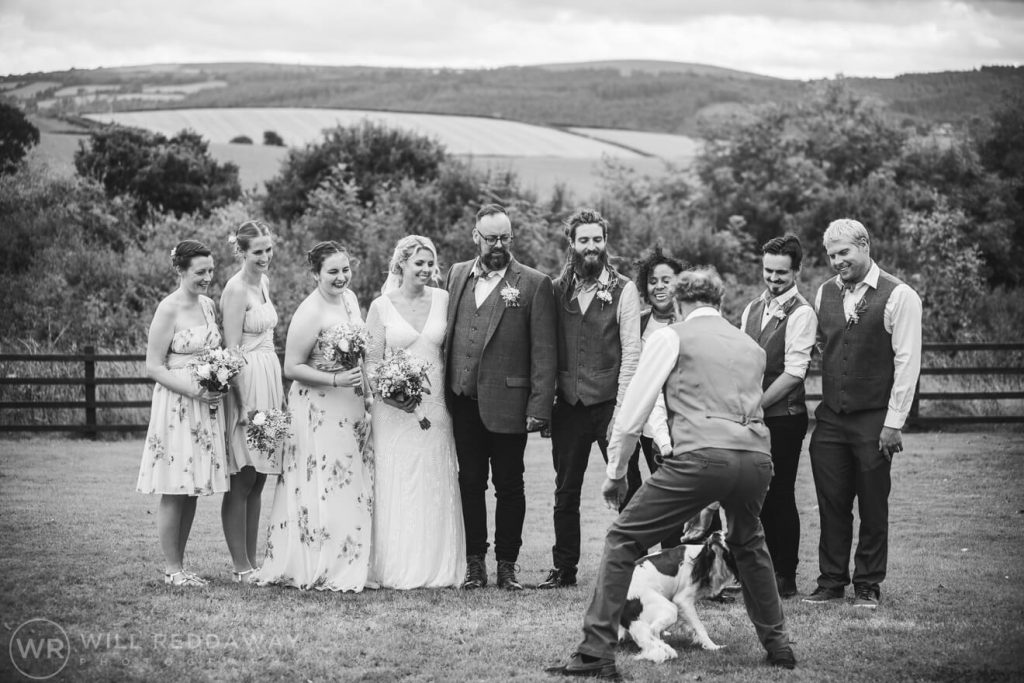 Higher Eggbeer Farm Wedding | Devon Wedding Photography | Guests