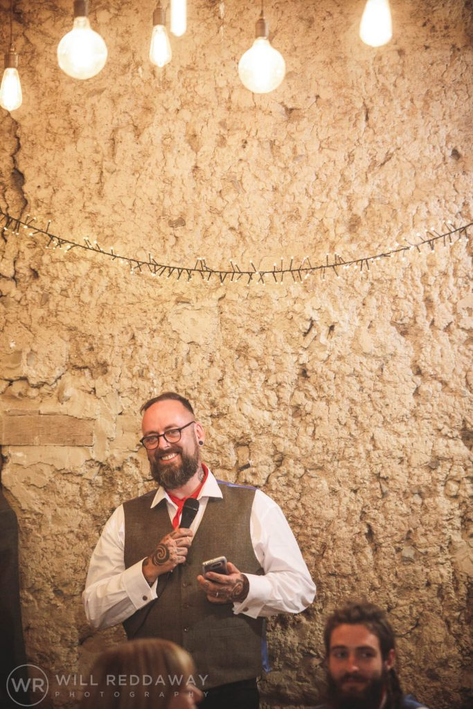 Higher Eggbeer Farm Wedding | Devon Wedding Photographer | Speeches