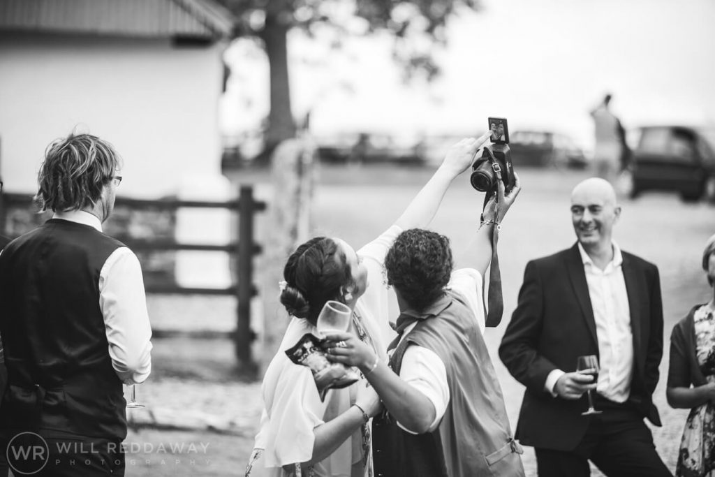 Higher Eggbeer Farm Wedding | Devon Wedding Photographer | Guests