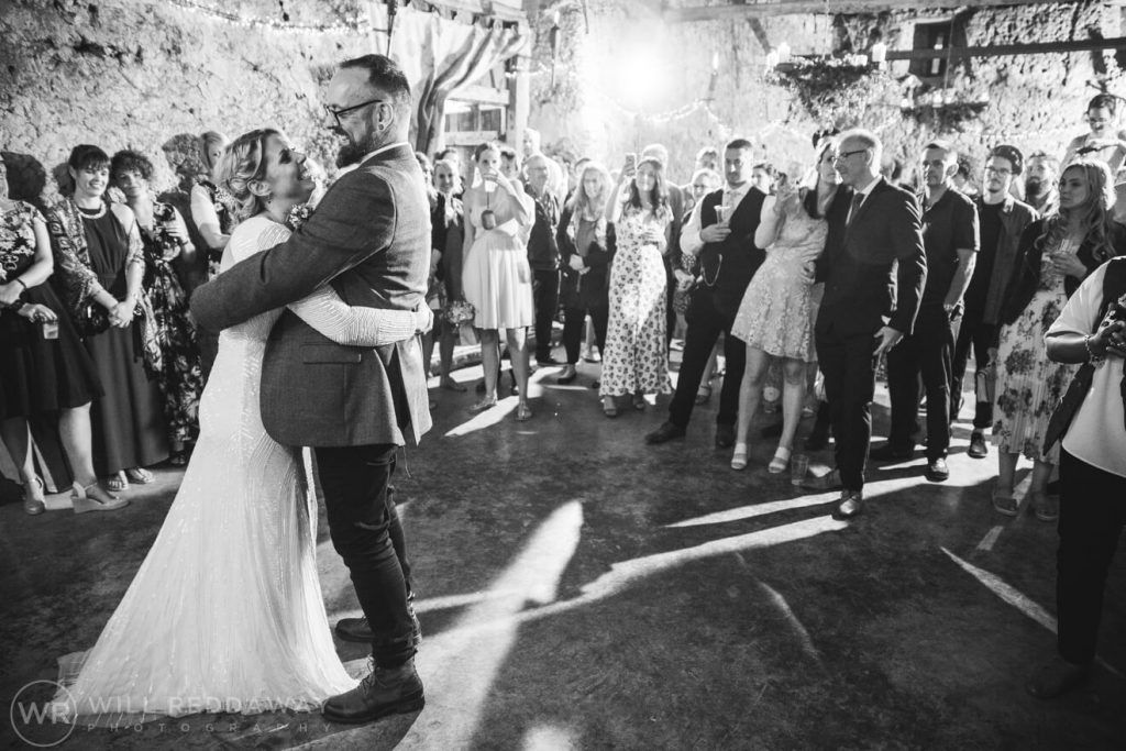 Higher Eggbeer Farm Wedding | Devon Wedding Photographer | First Dance
