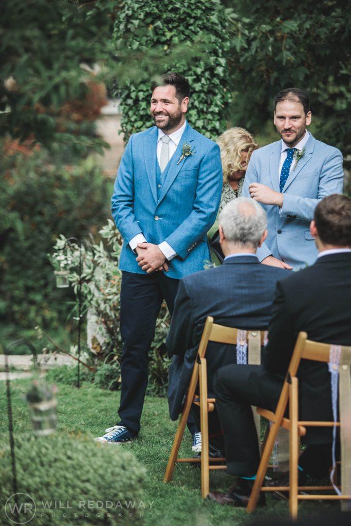 Hayne Barn Wedding | Devon Wedding Photographer | Outside Wedding Ceremony