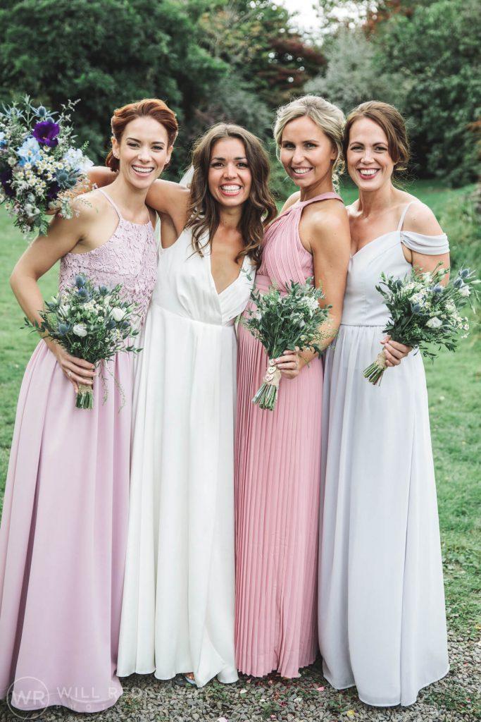 Hayne Barn Wedding | Devon Wedding Photographer | Bride & Bridesmaids