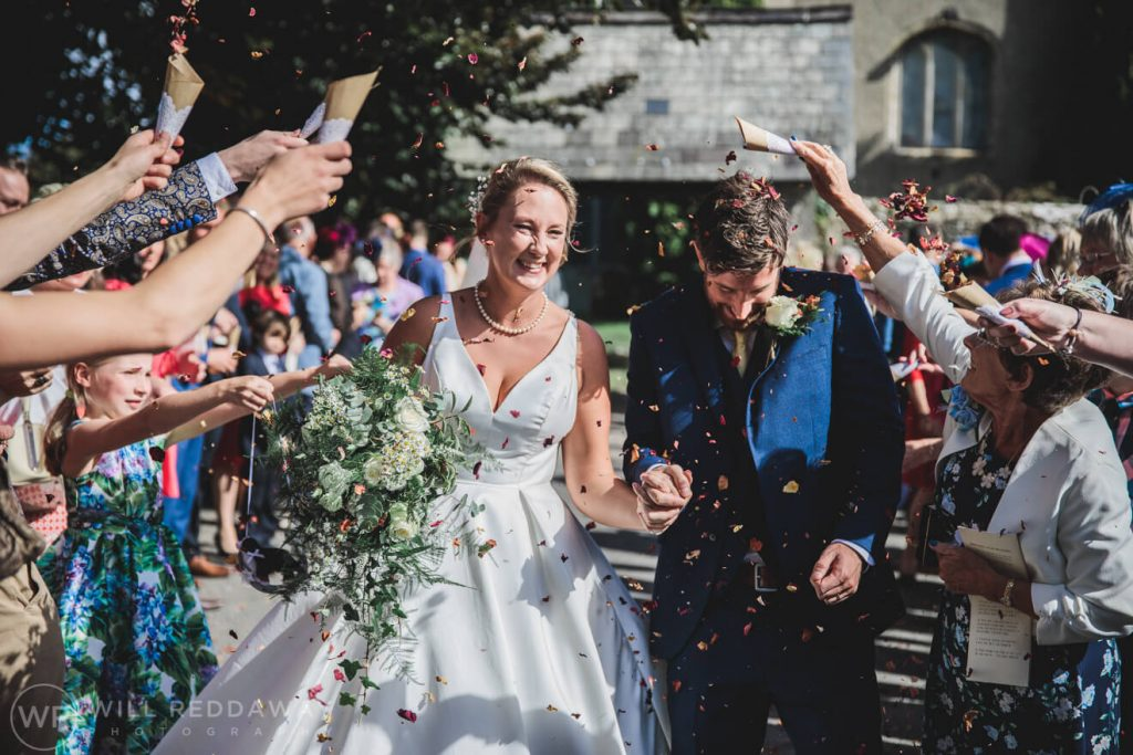 Holne Park House Wedding | Devon Wedding Photographer | Confetti