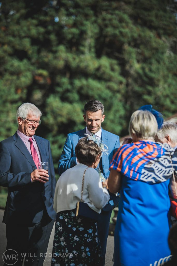 Holne Park House Wedding | Devon Wedding Photographer | Guests