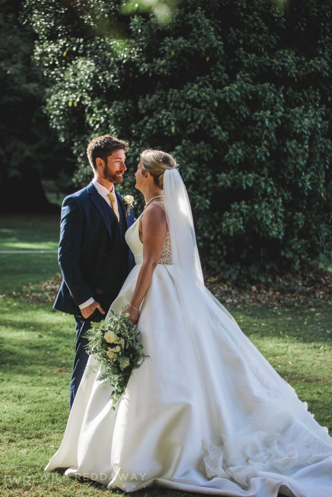 Holne Park House Wedding | Devon Wedding Photographer | Bride & Groom