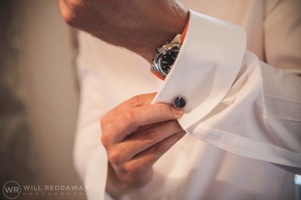 The Stone Barn Wedding | Cheltenham Wedding Photographer | Groom Preparations