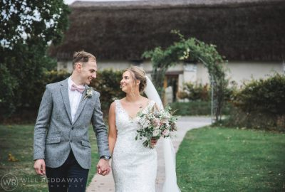 The Oak Barn Wedding | Devon Wedding Photographer | Bride & Groom