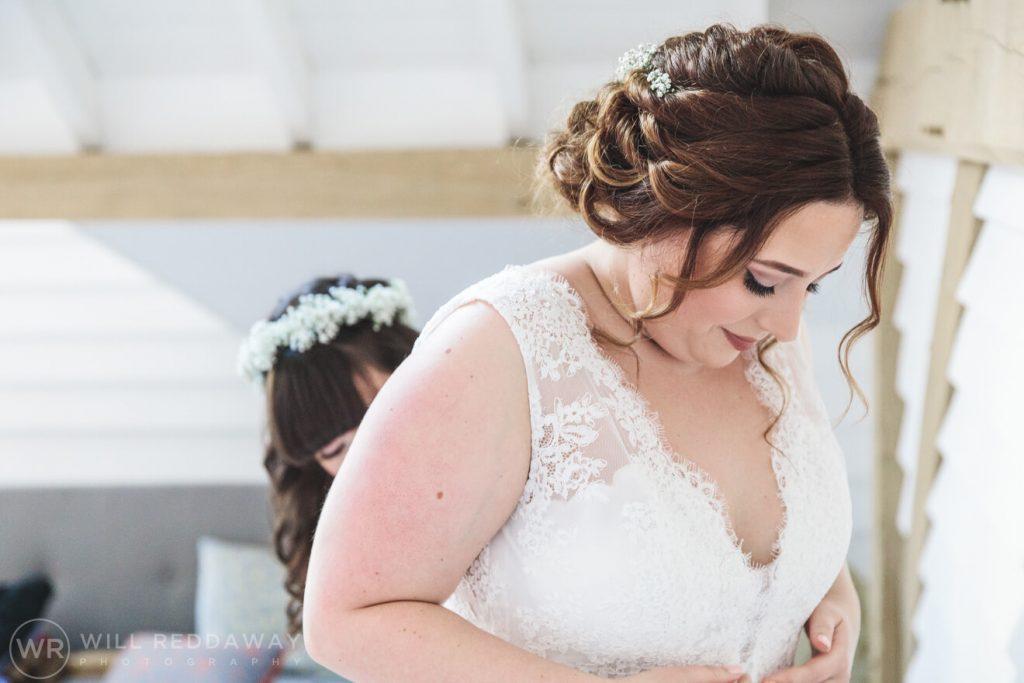 Tunnels Beaches Wedding | Devon Wedding Photographer | Bridal Preparations