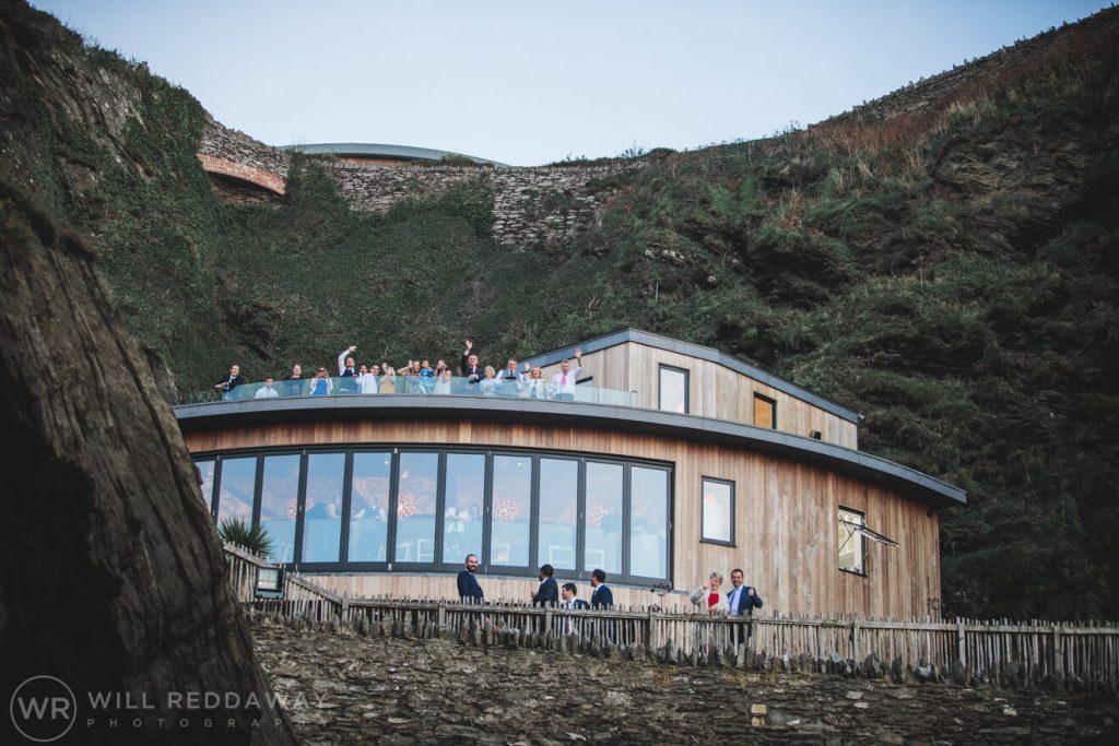 Tunnels Beaches Wedding | Devon Wedding Photographer | Guests