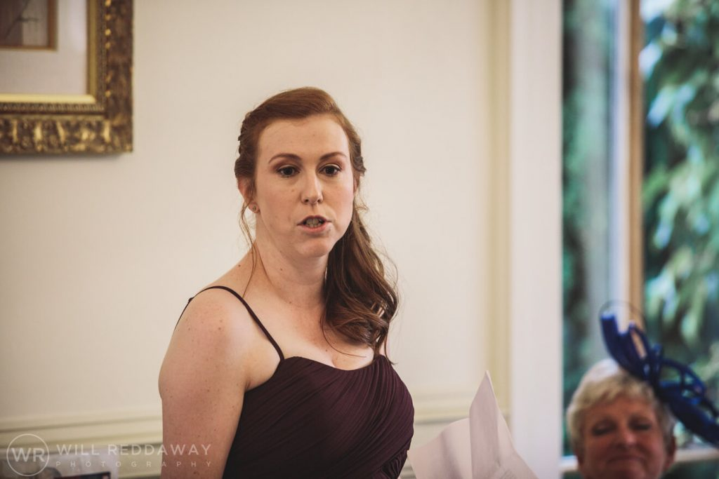 St Audries House Wedding | Devon Wedding Photographer | Speeches
