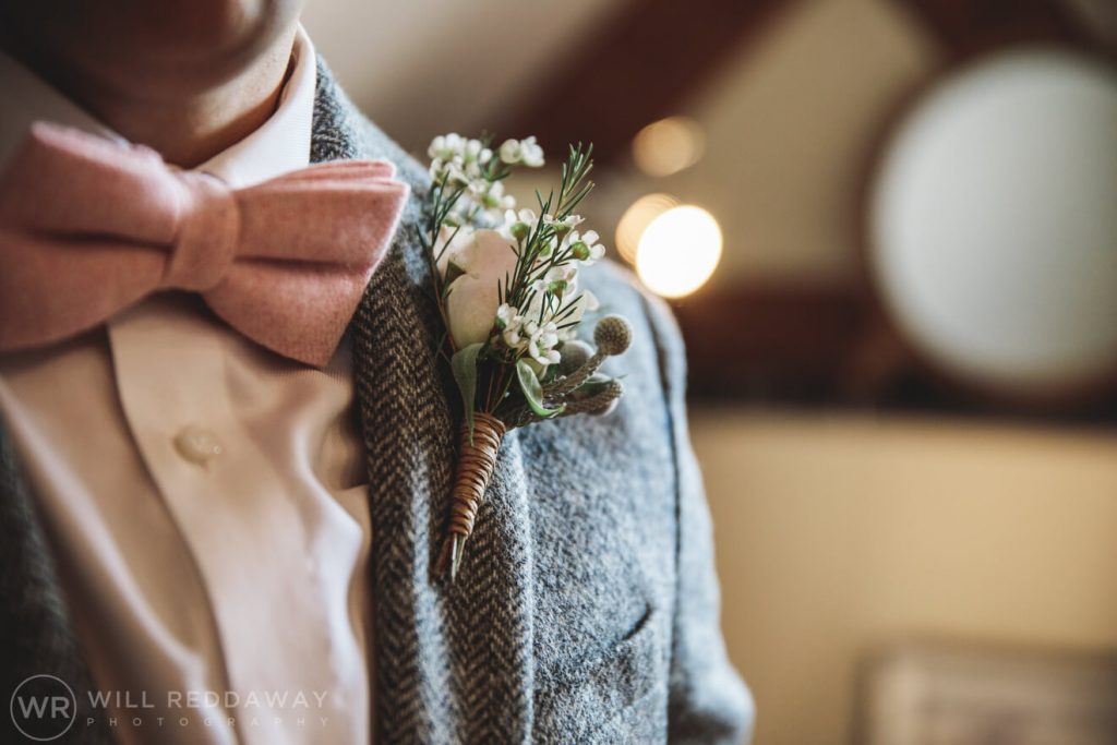 The Oak Barn Wedding | Devon Wedding Photographer | Groom Preparations