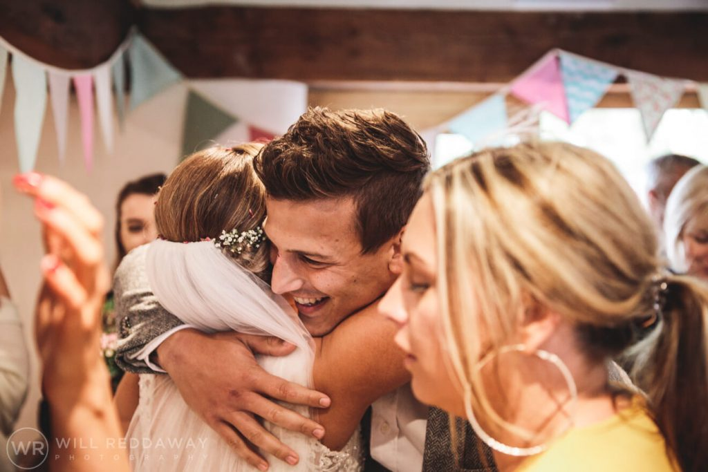 The Oak Barn Wedding | Devon Wedding Photographer | Guests