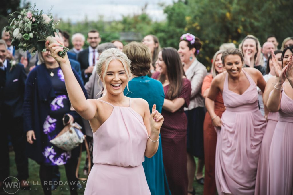 The Oak Barn Wedding | Devon Wedding Photographer | Bridesmaid