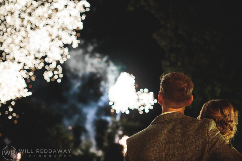 The Oak Barn Wedding | Devon Wedding Photographer | Fireworks