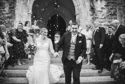 Dartington Hall Wedding | Devon Wedding Photographer | Confetti