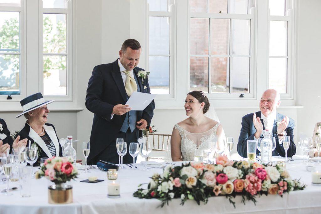 Rockbeare Manor Wedding | Devon Wedding | Speeches