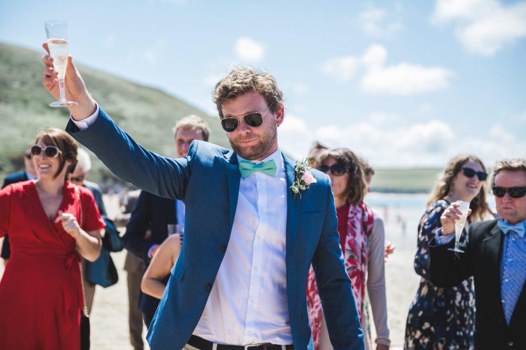 Polzeath Wedding | Cornwall Wedding Photographer | Beach Wedding