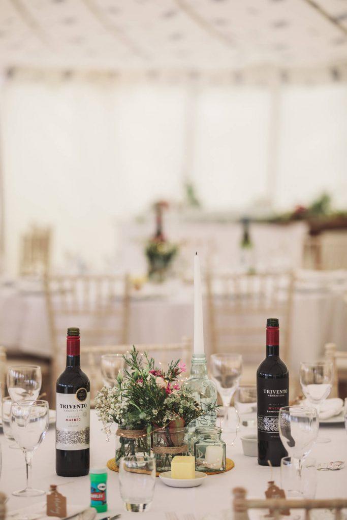 Polzeath Wedding | Cornwall Wedding Photographer | Venue Decorations