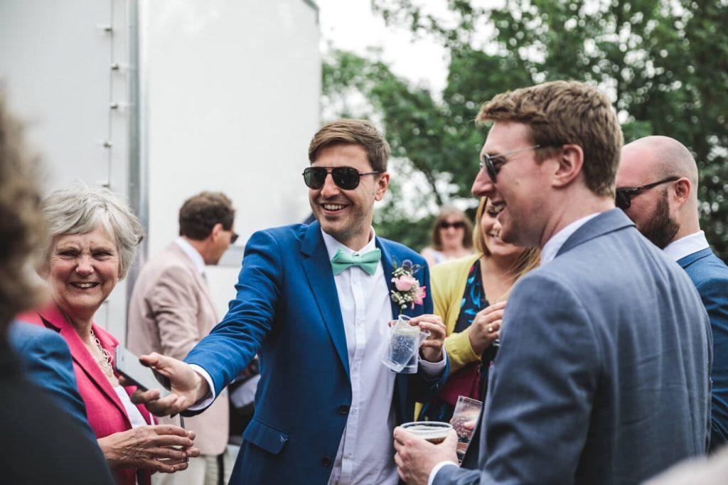 Polzeath Wedding | Cornwall Wedding Photographer | Wedding Guests