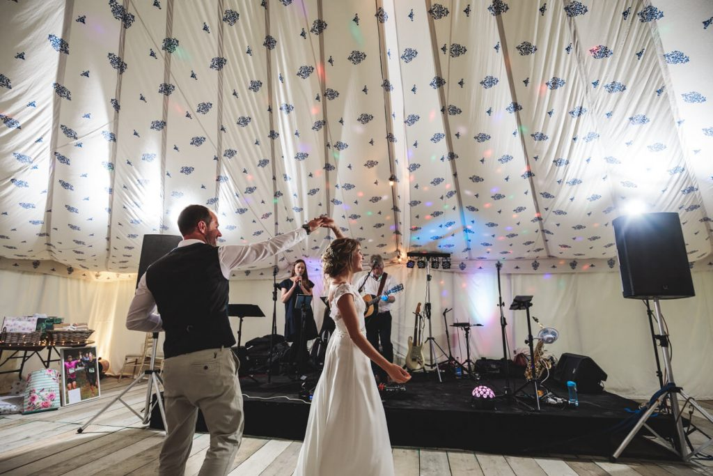 Polzeath Wedding | Cornwall Wedding Photographer | First Dance
