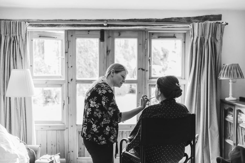 Middle Coombe Farm Wedding | Devon Wedding Photographer | Bridal Preparations