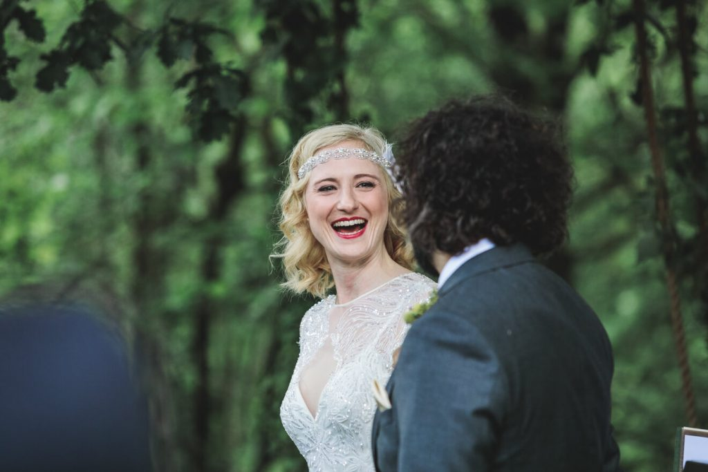 Middle Coombe Farm Wedding | Devon Wedding Photographer | Ceremony
