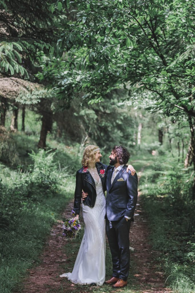Middle Coombe Farm Wedding | Devon Wedding Photographer | Bride & Groom