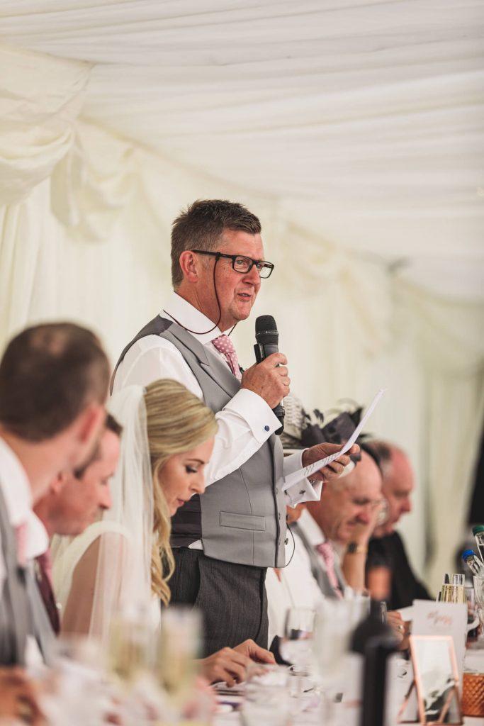 Hayley & Tom's Marquee Farm Wedding | Devon Wedding Photographer | Reception