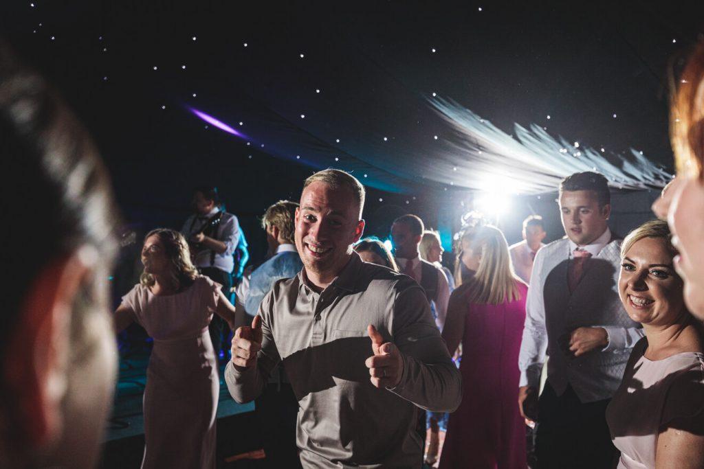 Hayley & Tom's Marquee Farm Wedding | Devon Wedding Photographer | Party