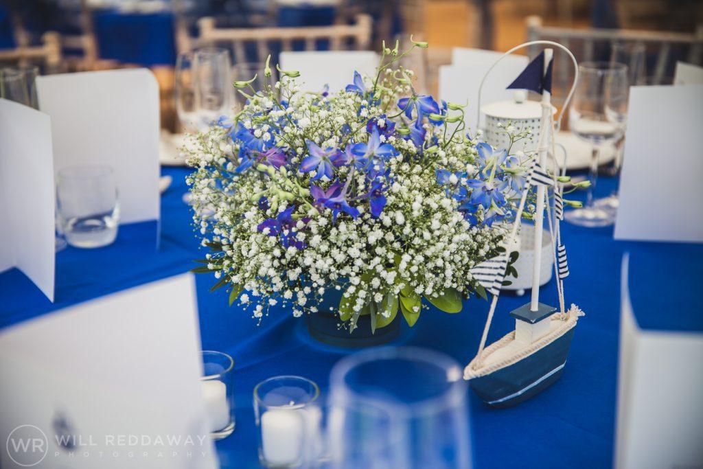 Farringdon Marquee Wedding   Devon Wedding   Table Decoration