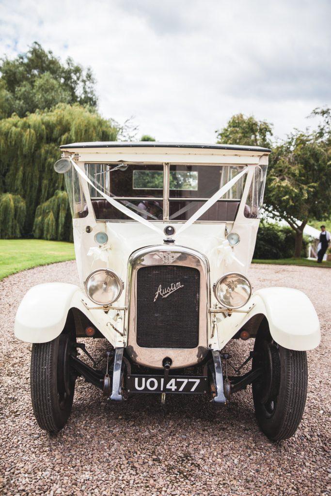 Farringdon Marquee Wedding   Devon Wedding   Wedding Car