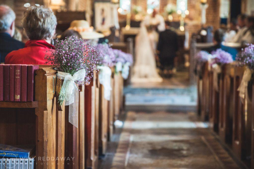 Farringdon Marquee Wedding   Devon Wedding Photographer   Church Wedding Decorations