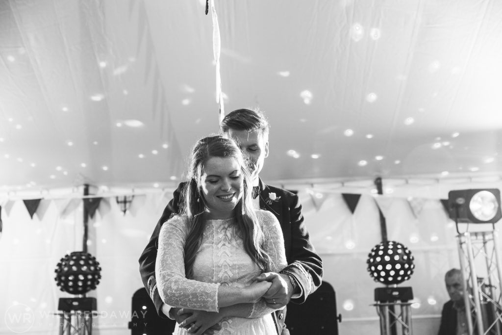 Farringdon Marquee Wedding   Devon Wedding Photographer   First Dance