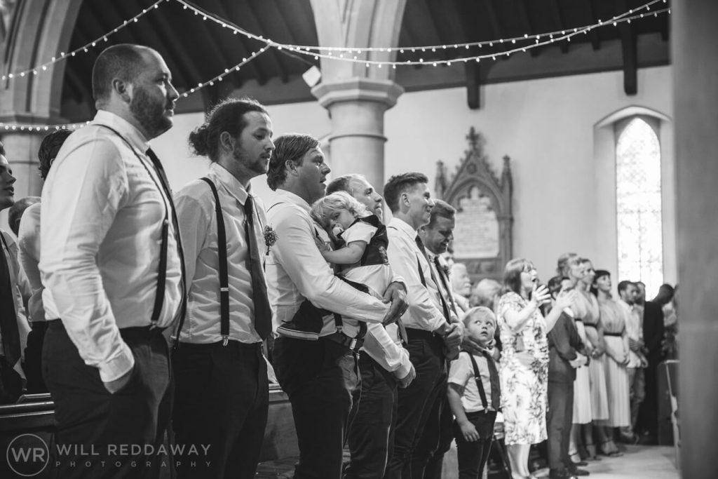 Brunel Manor Wedding  Devon Wedding Photographer   Groom & Groomsmen