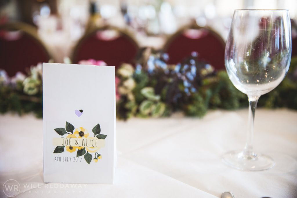 Brunel Manor Wedding   Devon Wedding Photographer   Wedding Decorations
