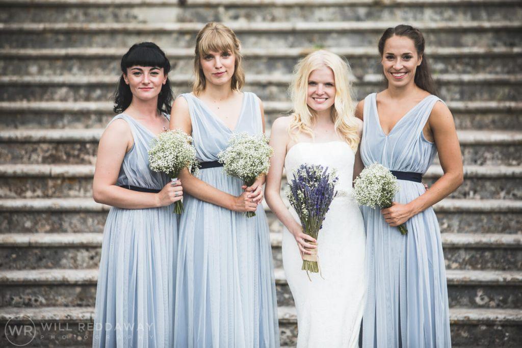 Brunel Manor Wedding   Devon Wedding Photographer   Bride & Bridesmaids