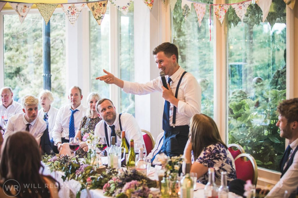 Brunel Manor Wedding   Devon Wedding Photographer   Bestman