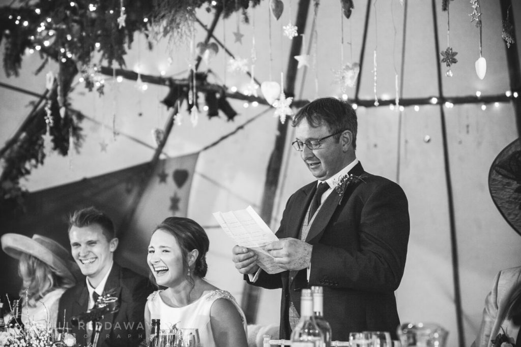 Farm Wedding | Devon Wedding Photographer | Speeches
