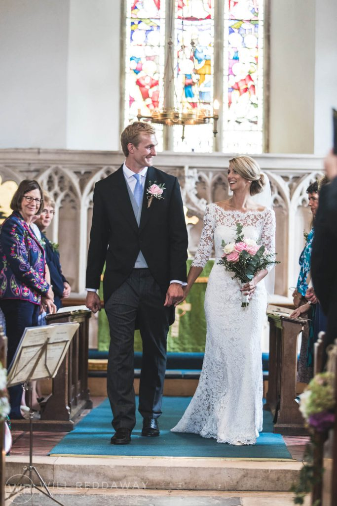 Barn Wedding | Devon Wedding Photographer | Church Ceremony