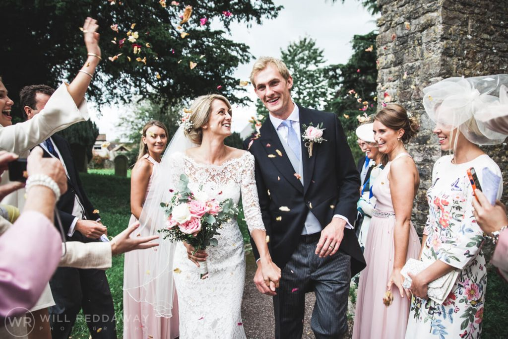Barn Wedding | Devon Wedding Photographer | Confetti