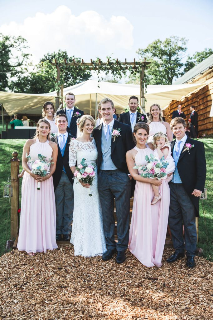 Barn Wedding | Devon Wedding Photographer | Bridal Party