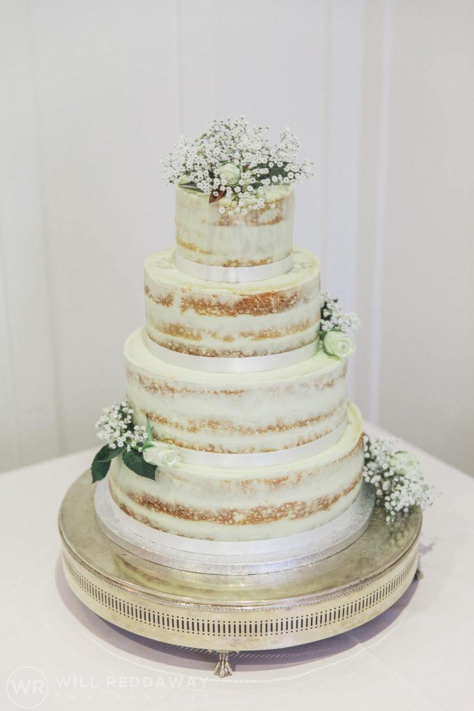 Salcombe Harbour Hotel Wedding | Devon Wedding | Wedding Cake