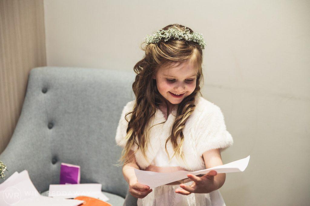 Salcombe Harbour Hotel Wedding | Devon Wedding | Flowergirl