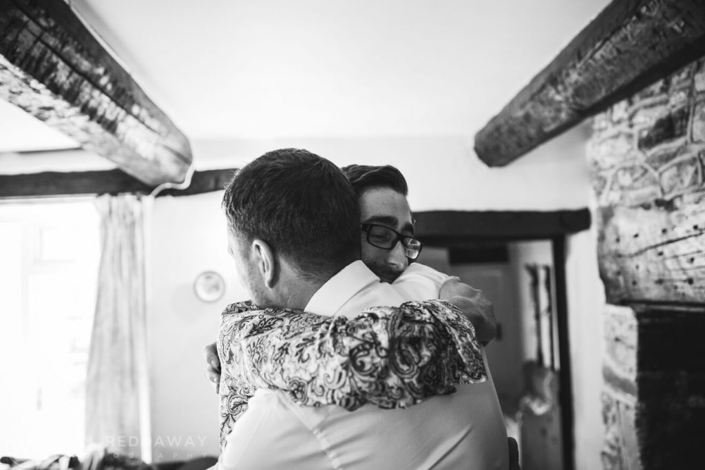 Deers Leap Retreat Wedding | Devon Wedding Photographer | Groomsmen