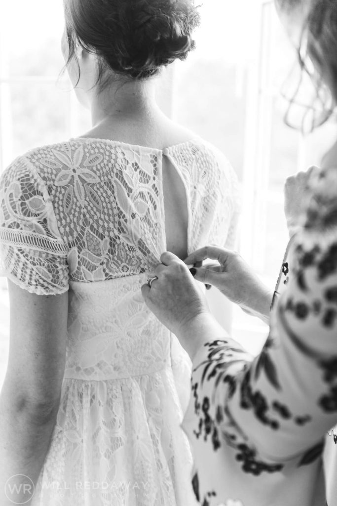 Deers Leap Retreat Wedding | Devon Wedding Photographer | Bridal Preparations