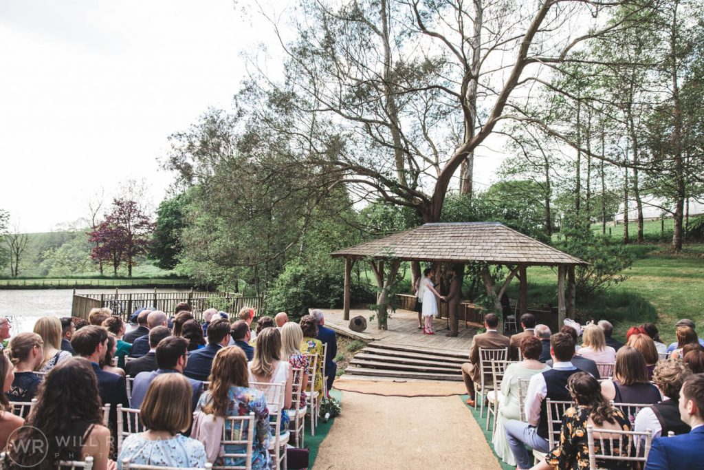 Deers Leap Retreat Wedding | Devon Wedding Photographer | Ceremony