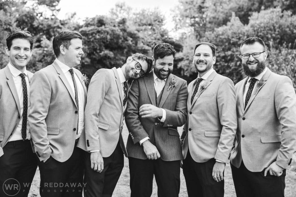 Hayne Barn Wedding | Devon Wedding Photographer | Groomsmen