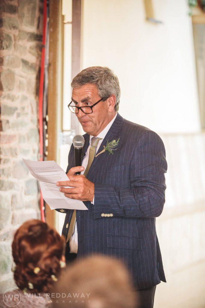 Hayne Barn Wedding | Devon Wedding Photographer | Speeches
