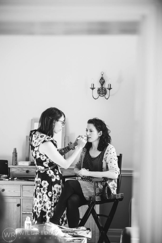 Holne Park House Wedding | Devon Wedding Photographer | Bridal Preparations